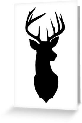 Black Deer  by alwaystaylittle