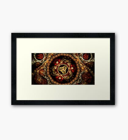 The Amulet Framed Print