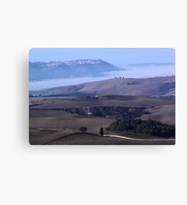 Montalcino wiew Canvas Print