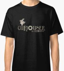 Curiouser & Curiouser Alice in Wonderland Shirt Classic T-Shirt