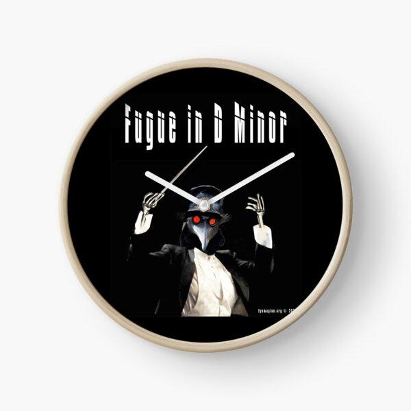 Fugue in D Minor Clock