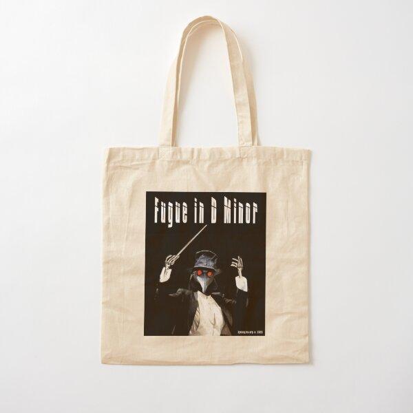 Fugue in D Minor Cotton Tote Bag