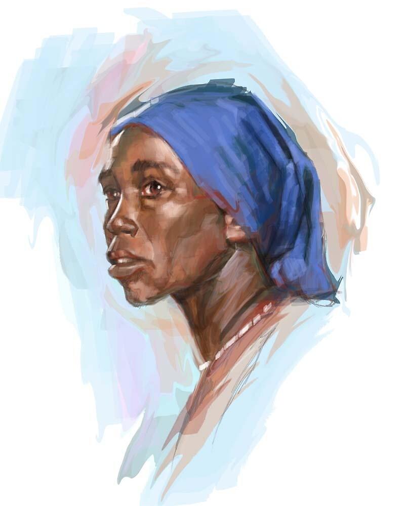 woman by Jim rownd