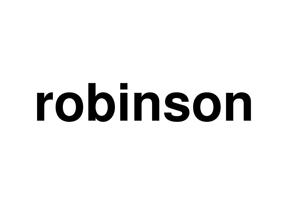 robinson by ninov94