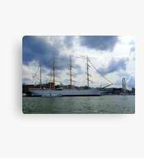 In The Gothenburg Harbour Canvas Print