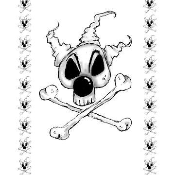 Bozo Skull by averybadbear