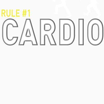 Rule #1 Cardio by redacedesigns