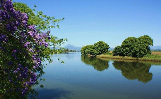 tweed river ... by gail woodbury