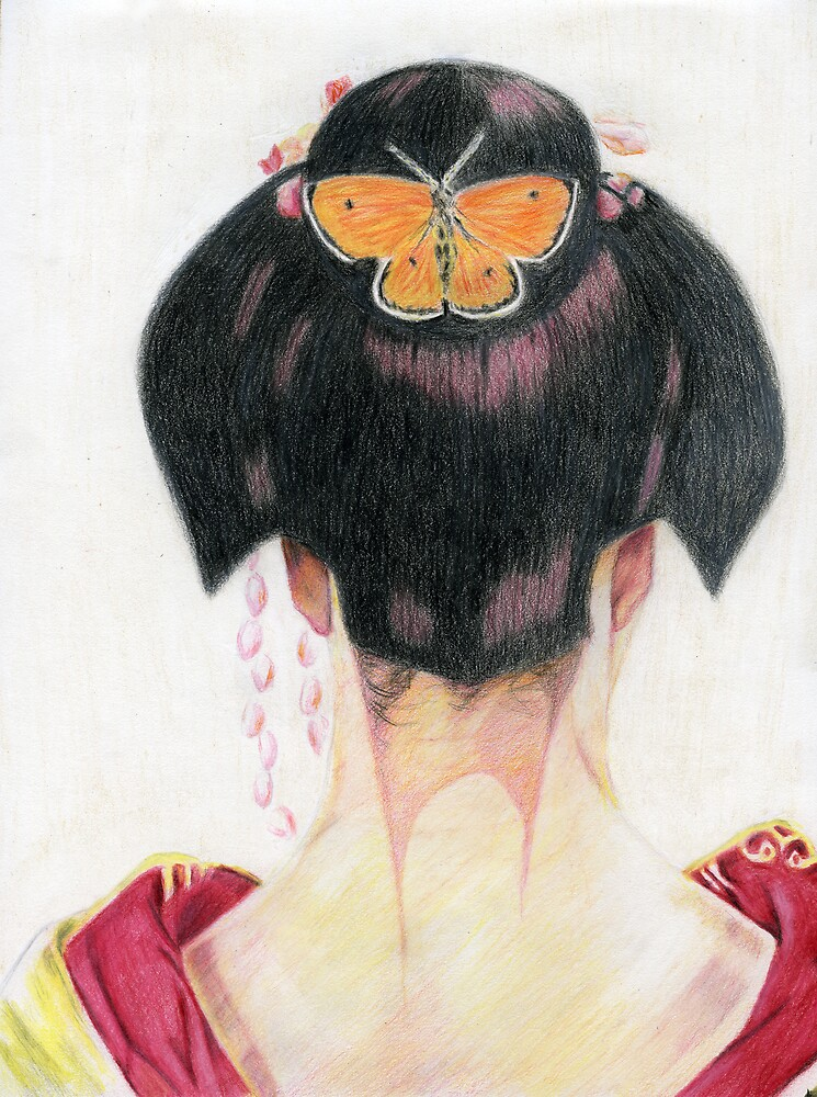 Madame Butterfly by Karen Clark