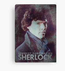 BBC Sherlock Poster & Prints (Benedict Cumberbatch) Canvas Print