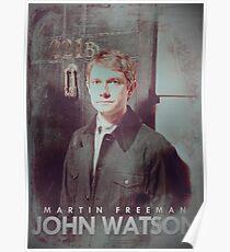 BBC Sherlock John Watson Poster & Prints (Martin Freeman) Poster