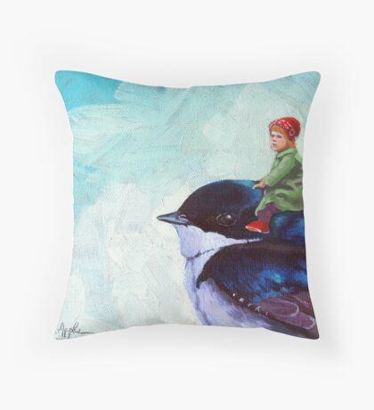 The Adventure Throw Pillow