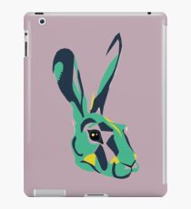 Mr Hare in Pink iPad Case/Skin