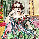 Madame Moitessier by Kittycat10