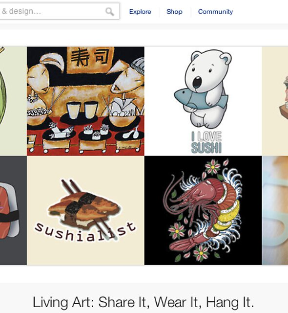 18 November 2011 by The RedBubble Homepage