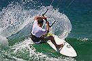 Kite Surfing at Merimbula by Darren Stones