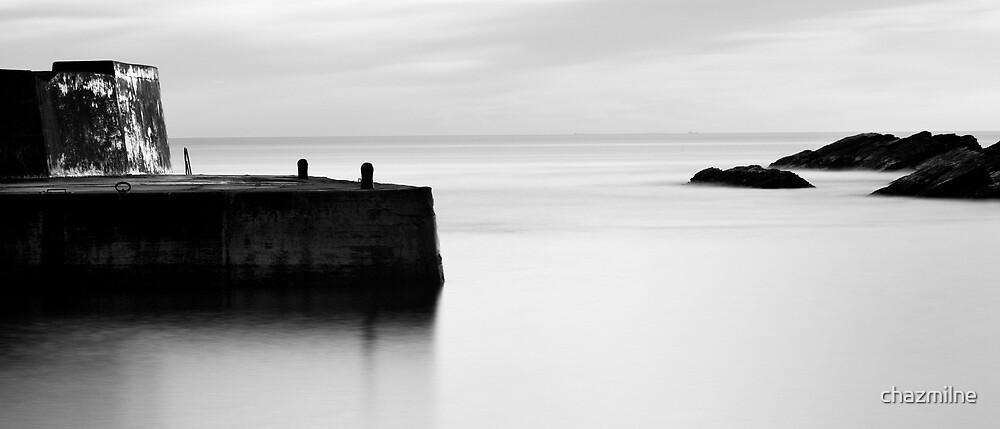 Collieston harbour. by chazmilne