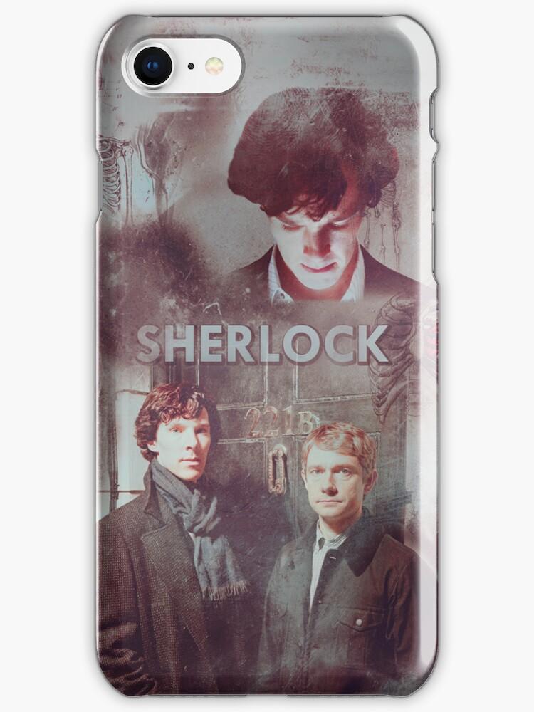BBC Sherlock IPhone Case by curiousfashion