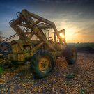 Old Skool Forklift by Yhun Suarez