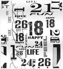 Numbers Are Fun Poster