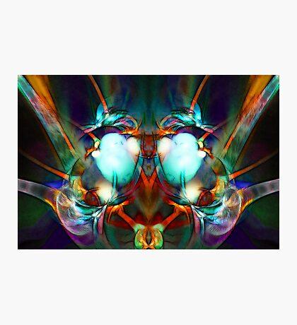 Neon City Lights Photographic Print