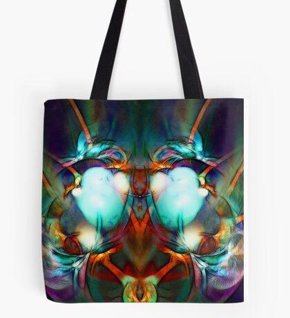 Neon City Lights Tote Bag