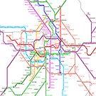 Berlin Metro by Mary Grekos