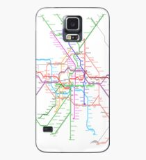 Berlin Metro Case/Skin for Samsung Galaxy