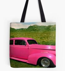 "1938 Oldsmobile ""Pepto-Bismol"" Custom Sedan Tote Bag"