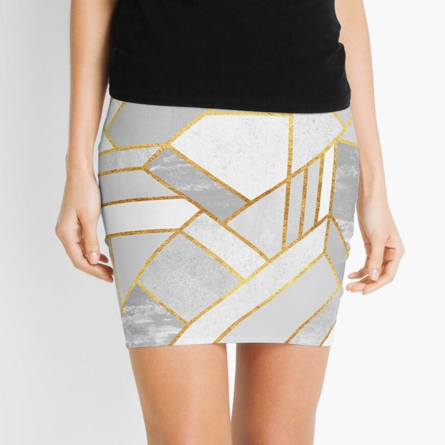 Gold City Mini Skirt