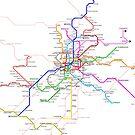 Madrid Metro by Mary Grekos