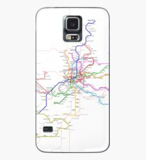 Madrid Metro Case/Skin for Samsung Galaxy