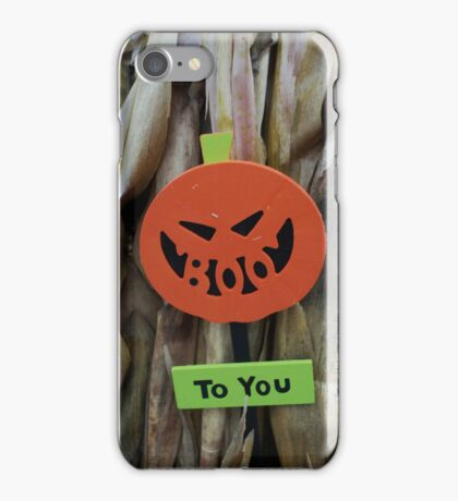 boo iPhone Case/Skin