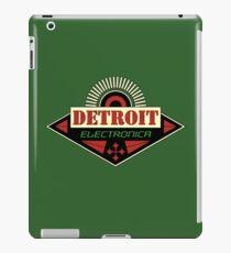Detroit Electronica iPad Case/Skin