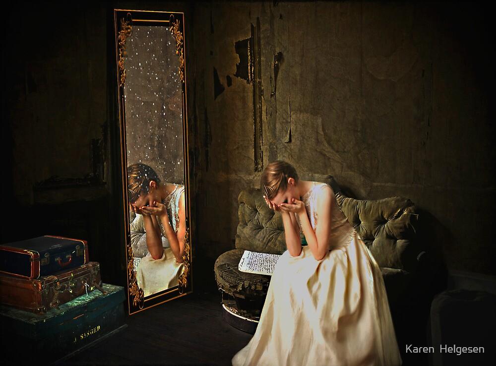 The Note... by Karen  Helgesen