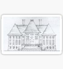 Chateau Sticker