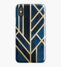 Art Deco Midnight iPhone Case