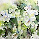 Catalpalike Flowers by LinFrye