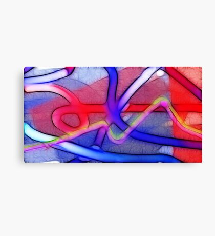 Relativity of my own feelings Canvas Print
