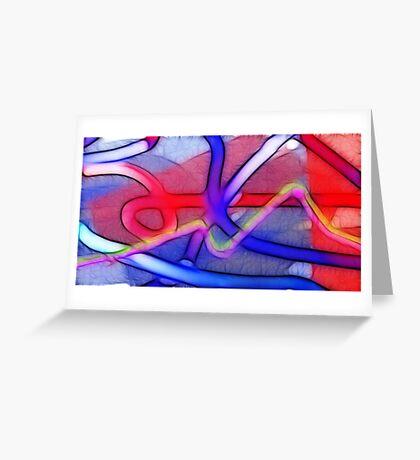 Relativity of my own feelings Greeting Card
