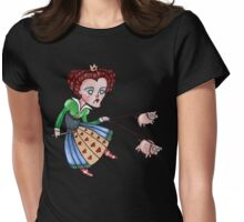 The Red Queen Tee Womens Fitted T-Shirt