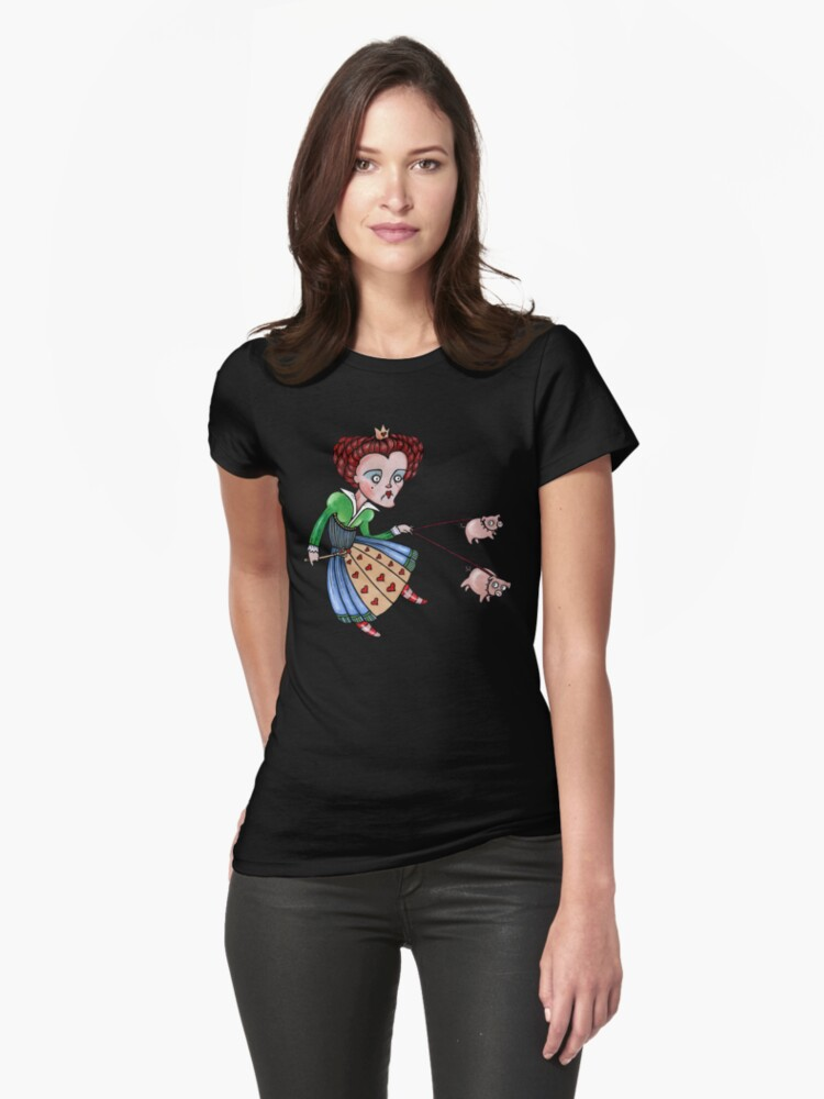 The Red Queen Tee by Anita Inverarity