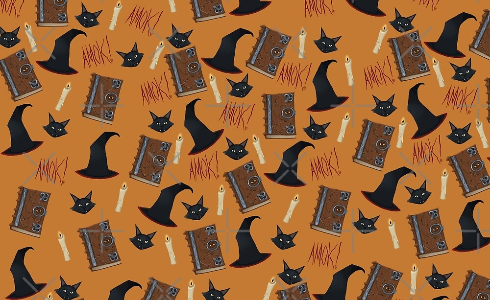 Just a Bunch of Hocus Pocus (Orange) by Tally Todd