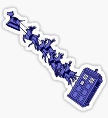 Doctor's Sleigh Sticker