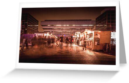 Birmingham German Market at Christmas by RossJukesPhoto