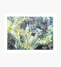 Dschungel (Mixed Media) Art Print