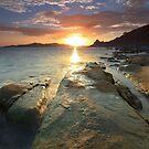 Sisiman Bay Sunset  by Rodel Joselito B.  Manabat
