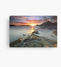 Sisiman Bay Sunset Metal Print
