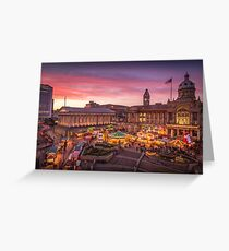Christmas in Birmingham and the German Markets Greeting Card