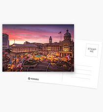 Christmas in Birmingham and the German Markets Postcards